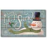 Courtside Market™ Let It Snow 12-Inch x 1.5-Inch Framed Wrapped Canvas