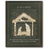 Courtside Market™ O Holy Night 16-Inch x 1.5-Inch Framed Wrapped Canvas