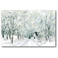 Courtside Market™ Winter Wonderland 12-Inch x 1.5-Inch Framed Wrapped Canvas