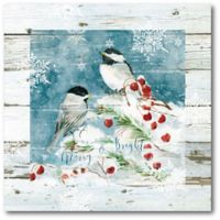 Courtside Market™ Snow Birds Ii 16-Inch x 1.5-Inch Framed Wrapped Canvas