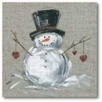 Courtside Market™ Winter Snowman Ii 16-Inch x 1.5-Inch Framed Wrapped Canvas