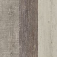 Light Solidity™ 18-Piece Decorative Wood-Look Vinyl Planks in Cottage Blend Multi-Grey