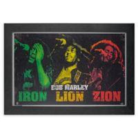 Bob Marley 1-Inch x 13-Inch Framed Print