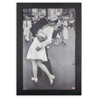 Licensed Life Kissing on VJ Day 13-Inch x 19-Inch Wall Art