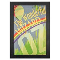 The Wizard Of Oz 13-Inch x 19-Inch Framed Canvas Wall Art