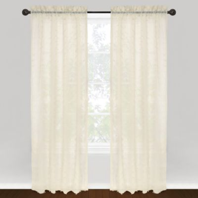 Buy 100% Cotton Curtain Panels from Bed Bath & Beyond