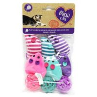 Meow& Me™ 9-Pack Ball and Mouse Cat Toys