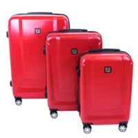 ful® Load Rider 3-Piece Hardside Spinner Luggage Set in Red