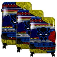 Ful® Marvel® Black Panther Tribal 3-Piece Hardside Spinner Luggage Set