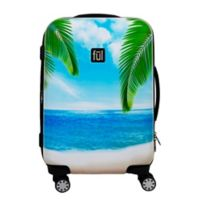 ful® Tropical Beach 21-Inch Hardside Spinner Carry On Luggage in Green