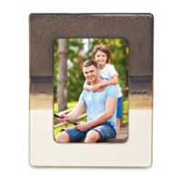 Lenox® Metallic Fusion™ 5-Inch x 7-Inch Picture Frame