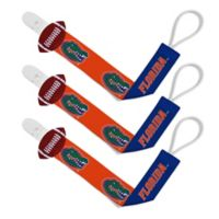Baby Fanatic University of Florida 3-Pack Pacifier Clips
