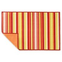 Fiesta® Striped Dish Drying Mat in Sunflower