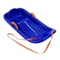 Snow Star de Luxe Sled in Blue