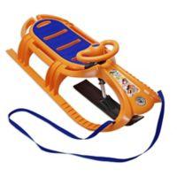 Snow Tiger de Luxe Sled in Orange