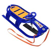 Snow Tiger de Luxe Sled in Blue
