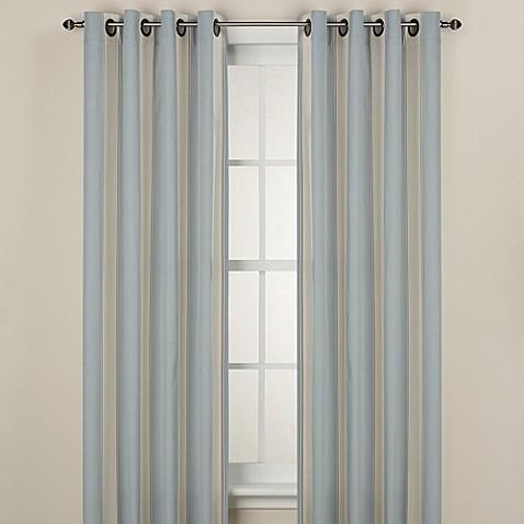 Lauren Stripe Window Curtain Panel - Bed Bath & Beyond
