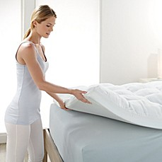 brookstone biosense memory foam mattress topper