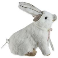 Northlight® 7.5-Inch Piglet Figure with Bunny Ears in White