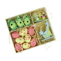 Northlight 13-Piece Spring Decor Set in Yellow