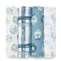 aden® by aden + anais® 4-Pack Cotton Muslin Swaddle Blankets in Retro