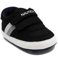 Nautica® Size 6-9M Tiny Hull Sneakers in Black