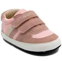 Nautica® Size 9-12M Tiny Hull Sneakers in Pink