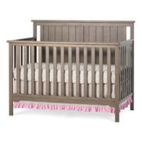 Child Craft™ Forever Eclectic™ Cottage Flat Top Convertible Crib in Dusty Heather