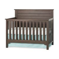 Child Craft™ Forever Eclectic™ Farmhouse Flat Top Convertible Crib in Truffle