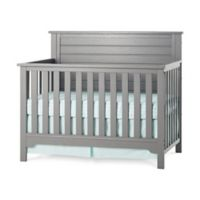 Child Craft™ Forever Eclectic™ Farmhouse Flat Top Convertible Crib in Pebble