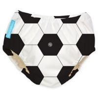 Charlie Banana® Large Reusable Swim Diaper in Soccer