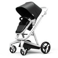Milkbe Lullaby Auto Stopping Stroller in Black