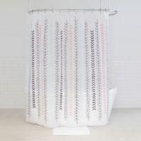 Westeria PEVA Shower Curtain in Blue