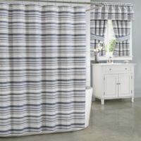 J. Queen New York Aedan 72-Inch x 96-Inch Shower Curtain in Indigo