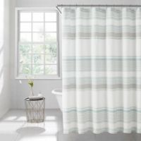 Lana Stripe 72-Inch x 84-Inch Shower Curtain in Spa