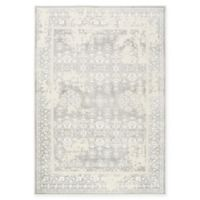 "Nicole Miller Infinity Distressed 2'6"" x 3'11"" Accent Rug in Grey"