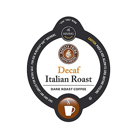 Vue 12 Count Barista Prima Coffeehouse Decaf Italian
