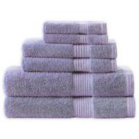 Home Resort Extravagant 6-Piece Bath Towel Set in Lilac
