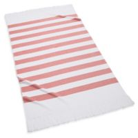 Kassatex Sardinia Beach Towel in Coral