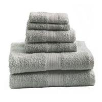 Signature 6-Piece Bath Towel Set in Silver