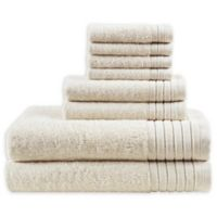 Madison Park Signature 8-Piece Mirage Towel Set in Ivory