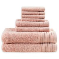 Madison Park Signature 8-Piece Mirage Towel Set in Blush
