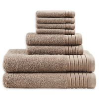 Madison Park Signature 8-Piece Mirage Towel Set in Taupe