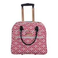 Jenni Chan Aria Snow Flake 17-Inch Business Tote in Red
