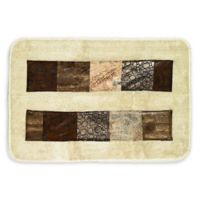 "Zambia 21"" x 32"" Bath Rug in Brown"