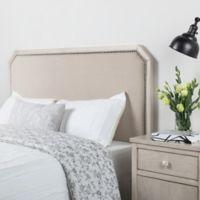 Bee & Willow™ Home Twin Linen Upholstered Headboard in Natural