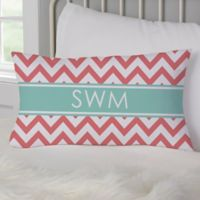 Preppy Chic Personalized Throw Pillow