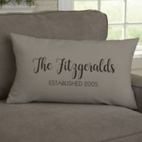 State Pride Personalized Throw Pillow