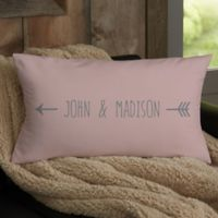 Arrows Personalized Throw Pillow