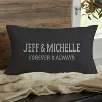 Established Personalized Throw Pillow